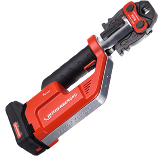 Rothenberger Romax Compact TT (Twin Turbo) - 15, 22 & 28mm Jaws M Profile - 100002124 - Romax TT With Jaws