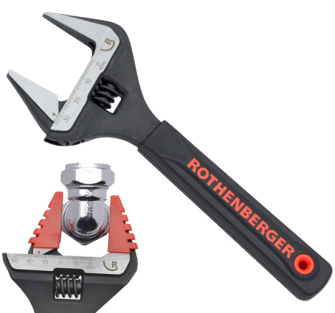Rothenberger Wide Jaw Wrenches 38mm - 7.0460