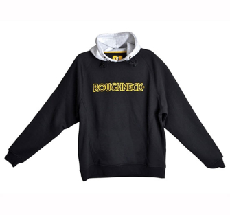 Roughneck Clothing Black / Grey Hooded Sweatshirts - Large