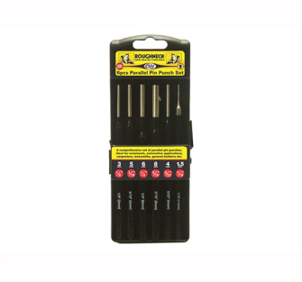 Roughneck Parallel Pin Punch Set of 6 - Set of 6