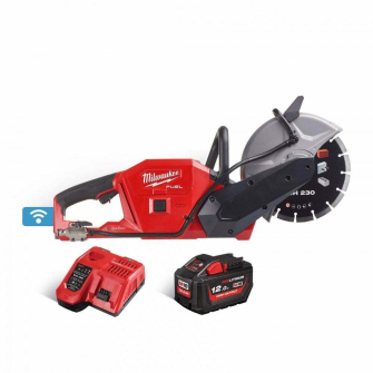 Milwaukee M18FCOS230-121 M18 18V FUEL Cut Off Saw Kit - 1 X 12Ah Battery