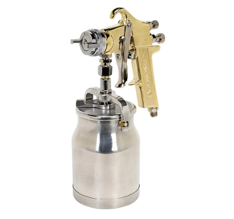 Sealey S701 Spray Gun Professional Suction Feed 1.8mm Set-Up