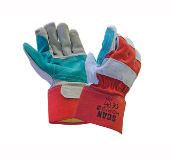 Scan Heavy-Duty Rigger Gloves - Pair of Gloves