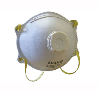 Scan Moulded Disposable MaskS Valved FFP1 Protection - Safety Mas