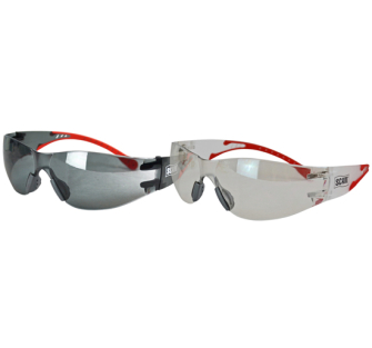 Scan XMS18GLASS2 Flexi-Spec Safety Glasses Twin Pack