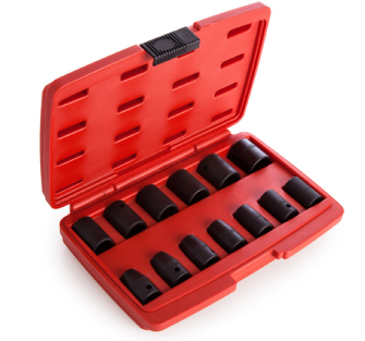 Sealey AK5613M Impact Socket Set 13pc 1/2in Sq Drive Metric