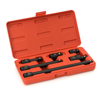 Sealey AK5514 Impact Adaptor & Extension Bar Set 6pc 1/2in Sq Dri