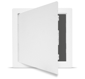 Plastic Access Panel - Hinged (Med) 355 x 355mm - Single Panel