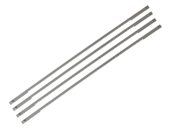 Stanley Coping Saw Blades Card (4) - Card of 4