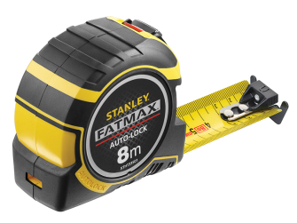 Stanley FatMax Autolock Pocket Tape 8m (Width 32mm) (Metric only)