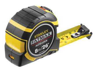 Stanley FatMax Autolock Pocket Tape 8m/26ft (Width 32mm)