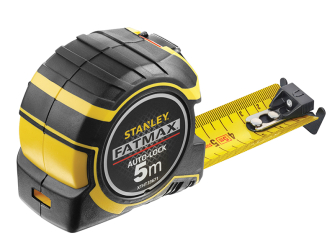 Stanley FatMax Autolock Pocket Tape 5m (Width 32mm) (Metric only)