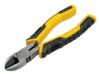 Stanley ControlGrip Diagonal Cutting Pliers 200mm (8in)