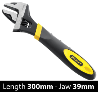 Stanley MaxSteel Adjustable Wrench 300mm - 0-90-950