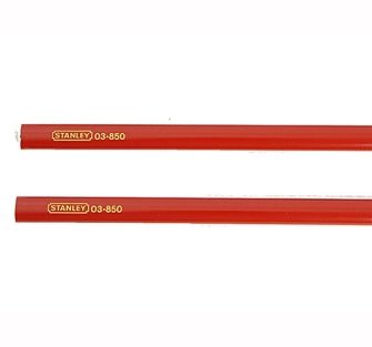 Stanley Carpenters Pencils - 2 Pack for Wood
