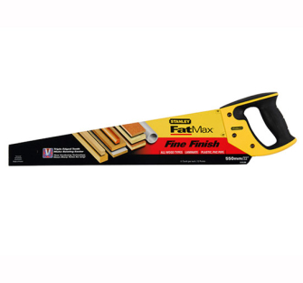 Stanley FatMax Fine Cut Handsaw's - 550mm 22in