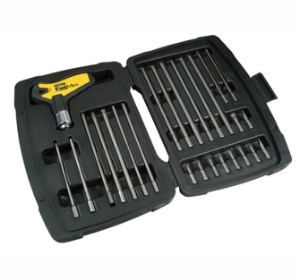 Stanley FatMax T Handle Ratchet Power Key Set 27 Piece - 27 Piece