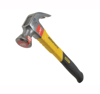 Stanley Graphite Shaft Curved Claw Hammers - Curved 20oz