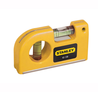 Stanley Magnetic Horizontal / Vertical Pocket Level - Pocket Leve