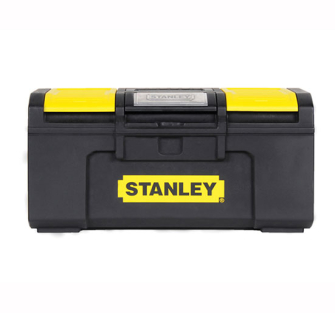 Stanley One Touch Toolbox DIY - 19in Tool Box With Drawer