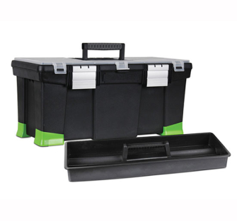 Stanley Toolbox 22-inch With Hi-Viz Tapered Corners - 22in