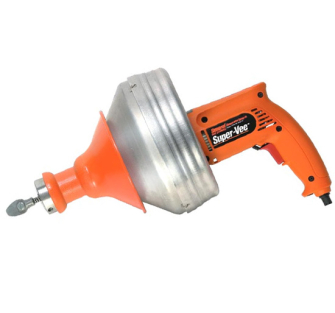 Gen. Wire SuperVee Drain Cleaning Machine - 1 Cable 7.5m - 110 Vo