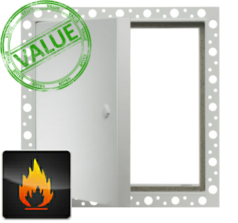 Value Metal Access Panels - Fire Rated Beaded Frame - 300 x 300mm