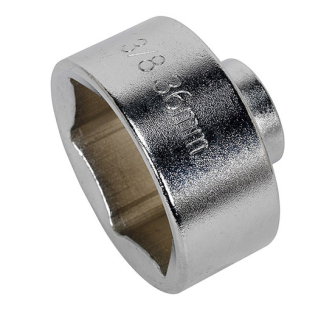 Sealey SX114 Low Profile Oil Filter Socket 36mm 3/8in Sq Drive
