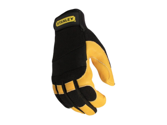 Stanley SY750L-EU Leather Performance Driver Gloves Large