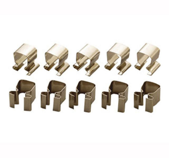 Teng Socket Clips Pack of 10 - 1/4in