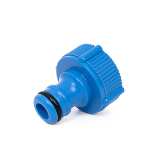 """Threaded Tap Connector for Hose 3/4"""" BSP"""