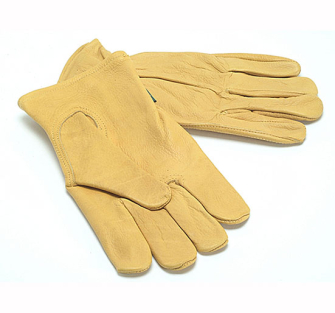 Town and Country Premium Leather Grain Cowhide Gloves