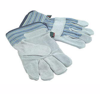 Town and Country TGL410 Mens Suede Leather Palm Gloves - One Size