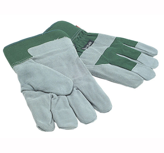 Town and Country TGL412 Mens Fleece Lined Leather Palm Gloves - O