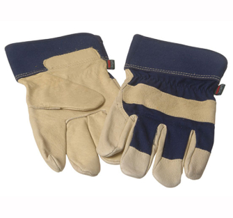 Town and Country TGL416 Deluxe Washable Leather Gloves - One Size