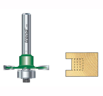Trend C145 x 1/4 TCT Bearing Guided Slotting Cutter 6.3mm - C145x