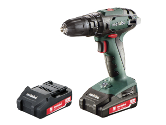 Metabo 18V Combi Drill with 2 x 2.0Ah Li-Ion Batteries