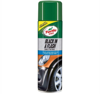 Turtle Wax 51777 Black In A Flash Aero - 500ml