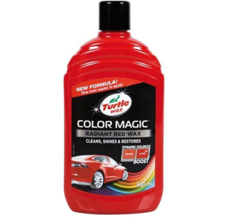 Turtle Wax 52711 Color Magic, Radiant Red Wax - 500ml - 52711
