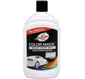 Turtle Wax 52712 Color Magic, Bright White Wax - 500ml - 52712