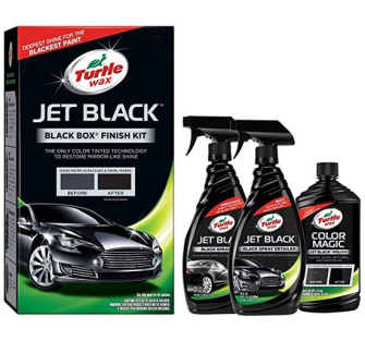 Turtle Wax 52731 Jet Black, Black Box Finishing Kit - 3 Piece - 52731