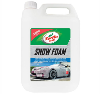 Turtle Wax 53111 Cherry Scented Snow Foam - 5L
