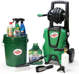Turtle Wax TW135 Pressure Washer 135bar - TCD Exclusive Bundle
