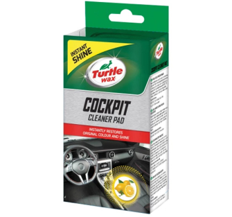 Turtle Wax TWX51680 Scented Cockpit Cleaner Pad