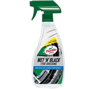 Turtle Wax TWX51801 Wet 'n' Black Tyre Dressing 500ml