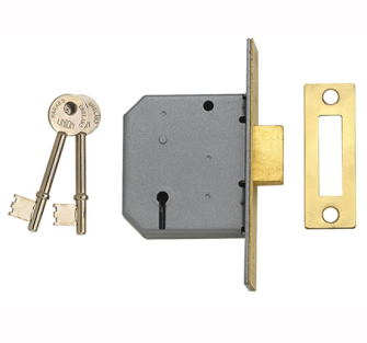 UNION 3 Lever Mortice Dead Locks - 2177