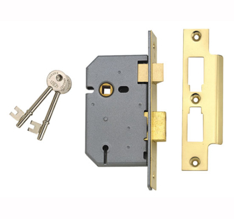 UNION 3 Lever Mortice Sash Locks - 2277