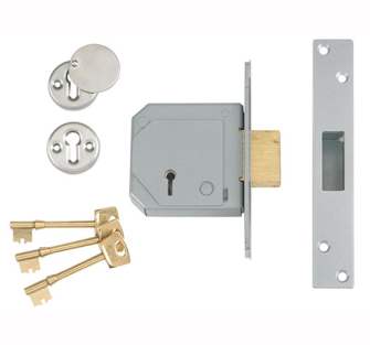 UNION 5 Lever Mortice Dead Locks BS C Series 3G114E