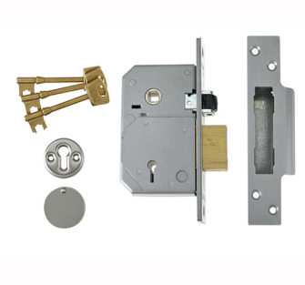 UNION 5 Lever Mortice Rollerbolt Sash Locks BS C Series 3K74E