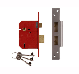 UNION 5 Lever Mortice Sash Locks - 2234E